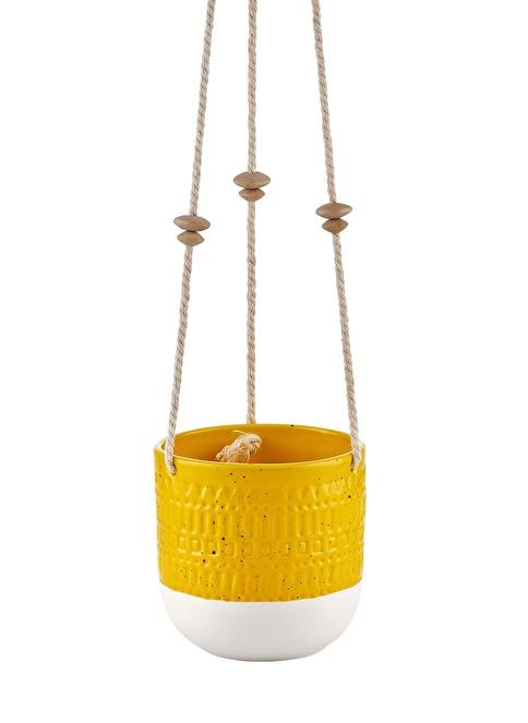 The Mia Çiçeklik - 13 Cm Sarı  Sarı
